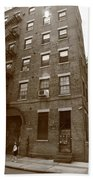 Brooklyn New York - 126 Front Street Beach Towel