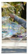 Bubble Boy Of Central Park Beach Towel
