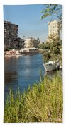 Cairo City Streets Beach Towel
