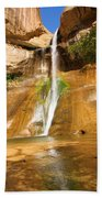 Calf Creek Falls Canyon Beach Towel
