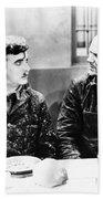 Chaplin: Modern Times, 1936 Beach Towel