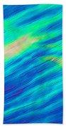 Cholesteric Liquid Crystals Beach Towel