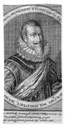 Christian Iv (1577-1648) Beach Towel