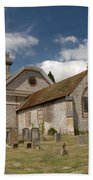 Church Of St. Lawrence West Wycombe  Beach Towel