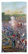 Civil War: Gettysburg, 1863 Beach Towel
