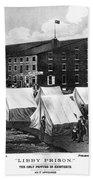 Civil War: Libby Prison Beach Towel