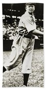 Cy Young (1867-1955) Beach Towel