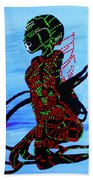 Dinka Bride - South Sudan Beach Towel