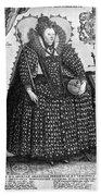 Elizabeth I (1533-1603) Beach Towel