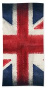 England Flag Beach Towel