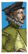 Felix Plater, Swiss Physician Beach Towel by Science Source
