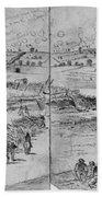 Gettysburg, 1863 Beach Towel