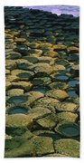 Giants Causeway, Co Antrim, Ireland Beach Towel