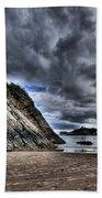 Goscar Rock Tenby Beach Towel