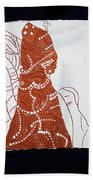 Guardian Angel Beach Towel