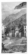 Harpers Ferry Insurrection, 1859 Beach Towel by Photo Researchers