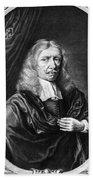 Johannes Hevelius, Polish Astronomer Beach Towel by Science Source