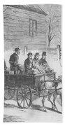 John Brown, American Abolitionist Beach Towel