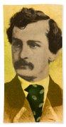 John Wilkes Booth, American Assassin Beach Towel