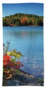 Killarney Provincial Park In Fall Beach Towel