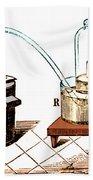 Lavoisiers Apparatus To Study Air Beach Sheet