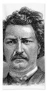 Louis Riel (1844-1885) Beach Towel