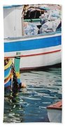 Maltese Harbor Beach Towel