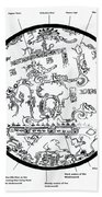 Mayan Cosmos Beach Towel by Science Source