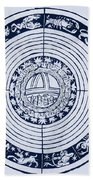 Medieval Zodiac Beach Towel by Science Source