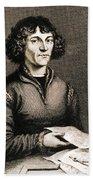 Nicolaus Copernicus, Polish Astronomer Beach Towel by Science Source