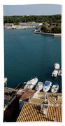 Panoramic Town 1 Beach Towel