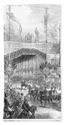 Paris Exposition, 1855 Beach Towel