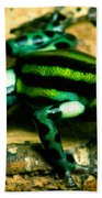 Pasco Poison Frog Beach Towel