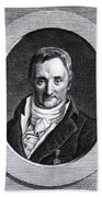 Philippe Pinel, French Physician Beach Towel by Science Source