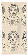Physiognomy Beach Towel