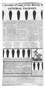 Presidential Campaign, 1828 Beach Towel