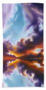 Reflections Of The Mind Beach Towel
