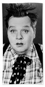 Roscoe Fatty Arbuckle Beach Towel