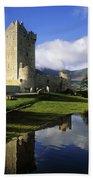 Ross Castle, Killarney, Co Kerry Beach Towel