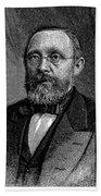 Rudolf Virchow (1821-1902) Beach Towel