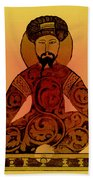 Saladin, Sultan Of Egypt And Syria Beach Towel