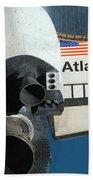 Space Shuttle Atlantis Beach Sheet