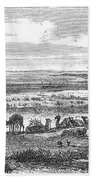 Suez Canal, 1869 Beach Towel
