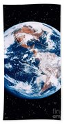 The Earth Beach Towel by Stocktrek Images