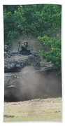 The Leopard 1a5 Main Battle Tank Beach Towel