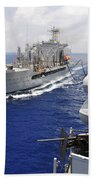 The Military Sealift Command Fleet Beach Towel