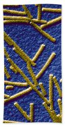 Tobacco Mosaic Virus Beach Towel