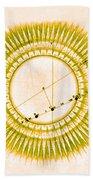 Transit Of Venus, 1761 Beach Towel by Science Source