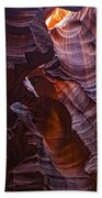 Upper Antelope Canyon, Arizona Beach Towel