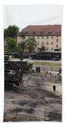 U.s. Soldiers Teach The Polish Military Beach Towel